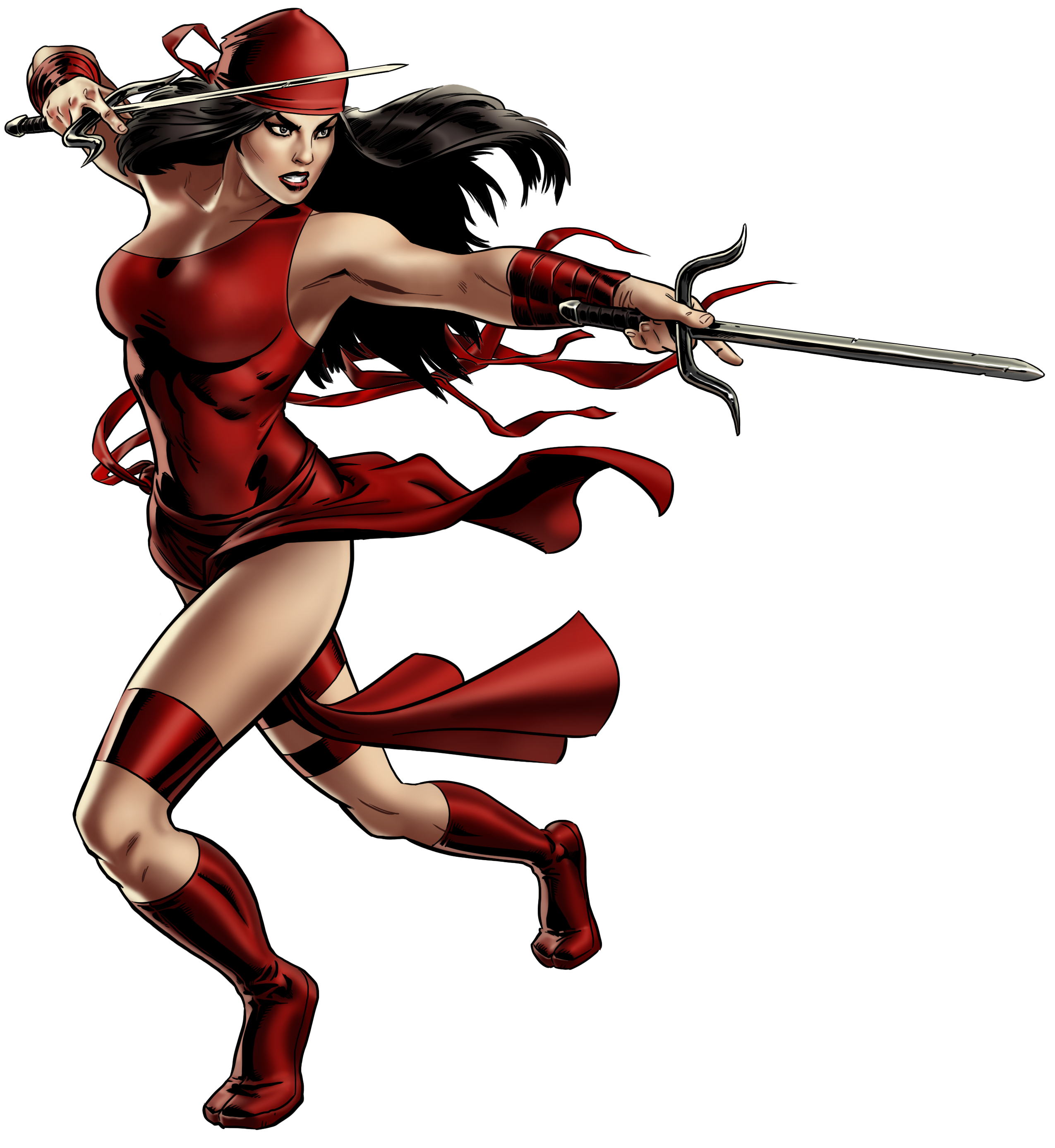 FileElektra Portrait Art png Elektra Marvel