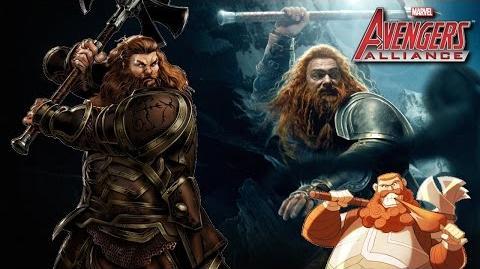 VOLSTAGG's Moves Set Marvel Avengers Alliance Movimientos Animaciones Animations Skills Habilidades