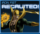 Iron Fist Recruited Old