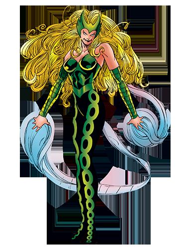 The Enchantress - Thor - Amora of Asgard - Marvel Comics ...