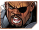 Nick Fury Marvel XP Sidebar