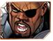Nick Fury Marvel XP Sidebar