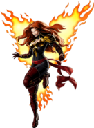 Phoenix Five Phoenix Right Portrait Art