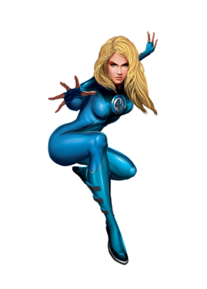 Invisible Woman Marvel XP