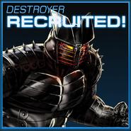 Destroyer Recruited