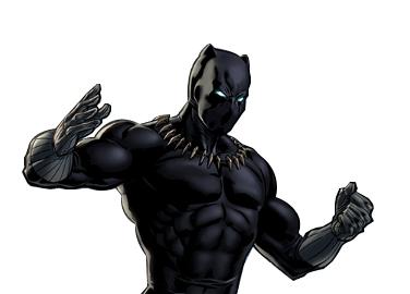 Black-panther Black Panther Marvel Avengers Alliance