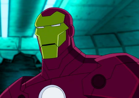 Iron man animated avengers - photo#23