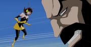 Wasp confronting Graviton