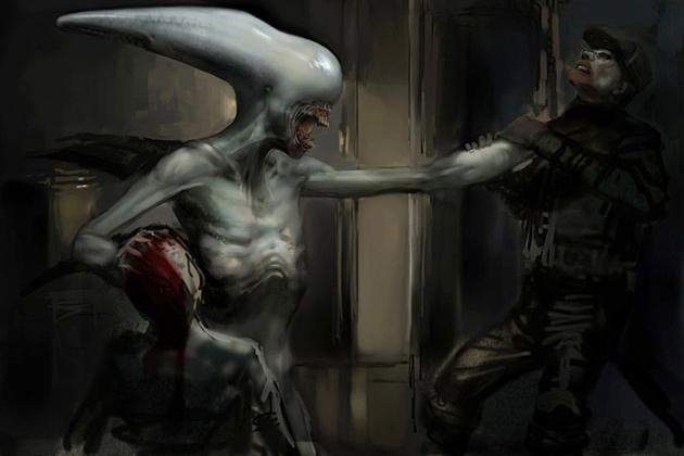 Xenomorph Queen Prometheus Beluga-Xenomorph | Xen...