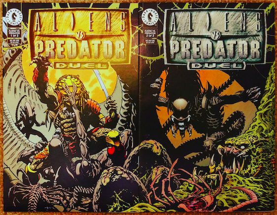 File:AVP Duel 1-2 covers.png