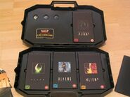Alien Trilogy Facehugger Set Tapes
