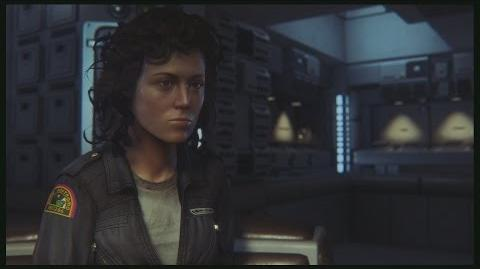 Alien Isolation Ellen Ripley's Message to Amanda Ripley