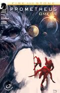 Prometheus- Fire and Stone—Omega variant cover ECCC