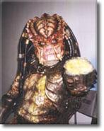 David Smith in Predator costume