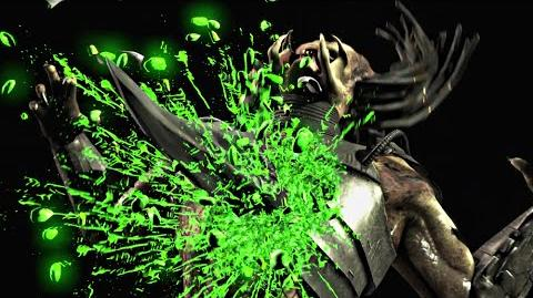 "MORTAL KOMBAT X · Alien ""Killer Queen"" Fatality HD MKX"