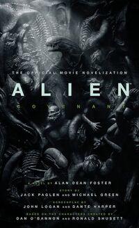 Alien Covenant novel