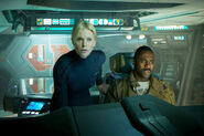 Charlize Theron Idris Elba Prometheus