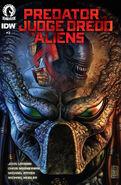Cover to Predator vs. Judge Dredd vs