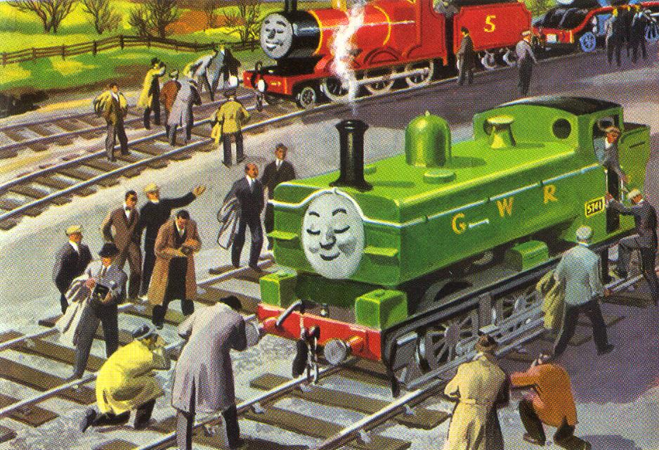mallard train model