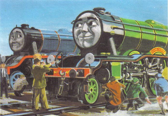 Flying Scotsman Awdry S Railway Series Wiki Fandom
