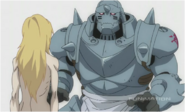 Alphonse Sees his Body on the Promised Day
