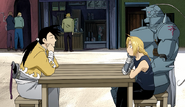 The Elric Brothers Chat With Ling After Meeting Him