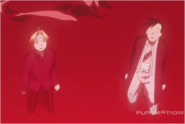 Edward Elric & Ling Yao While Watching Envy Transform