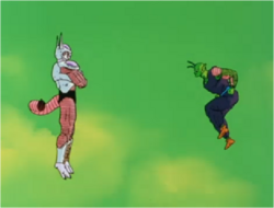 Frieza Deciding to Transform Against Piccolo