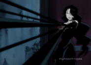 Lust's Ability to Extend her Fingernails Being Used to Restrain