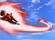 Goku Fighting Cooler With the Kaioken