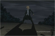 Edward Elric is Backed into Walls While Fighting Pride
