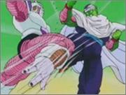 Piccolo Fighting Frieza