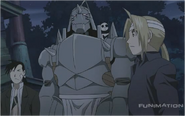 Ling Yao & The Elric Brothers Stay to fight Gluttony