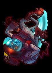 CharacterRender Yuri Skin Kosmonaut