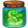 Skill Froggy Mutant worms