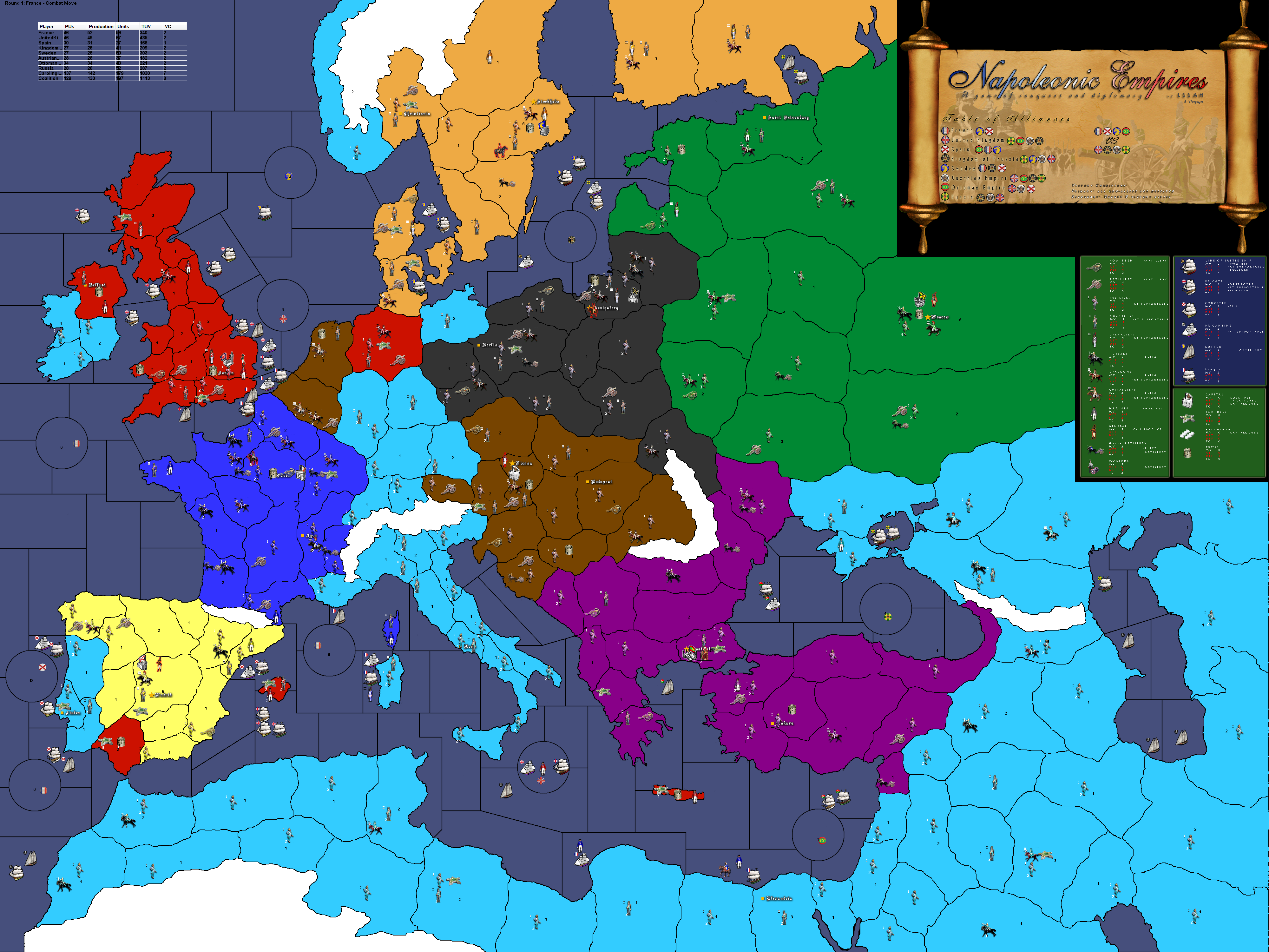 Image - Napoleonic Empires.png | Axis & Allies Wiki | Fandom ...