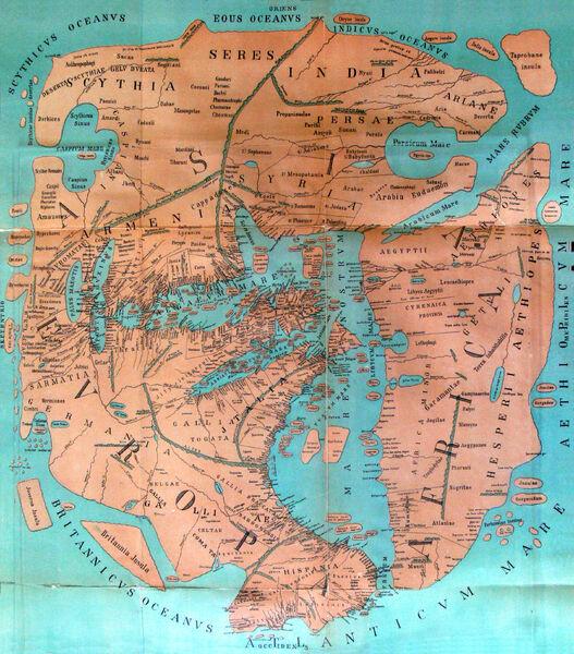 World Map, 1544