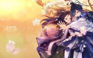 Odairi & Ohina Princess Wars Wallpaper