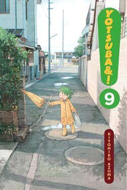 Yotsuba&! Manga Volume 09 en new