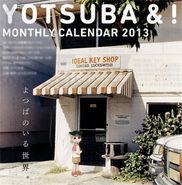 Yotsuba calendar monthly 2013