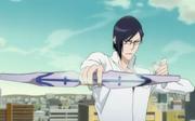 Uryu's new bow