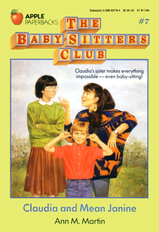Claudia And Mean Janine The Baby Sitters Club Wiki