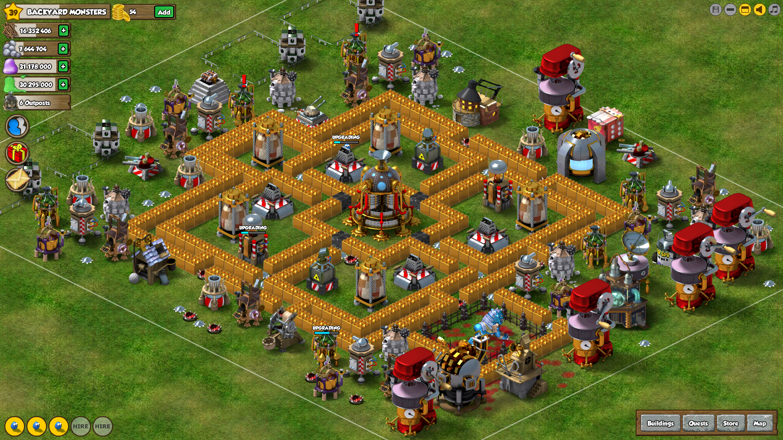 strategies to building a strong base backyard monsters wiki