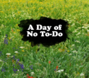A Day of No To-Do