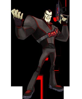 Doctor Black de juegos bajo terra
