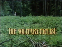 SHG title card The Solitary Cyclist