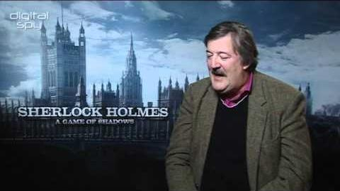 Stephen Fry on 'Sherlock Holmes A Game of Shadows'