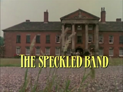 SHG title card The Speckled Band