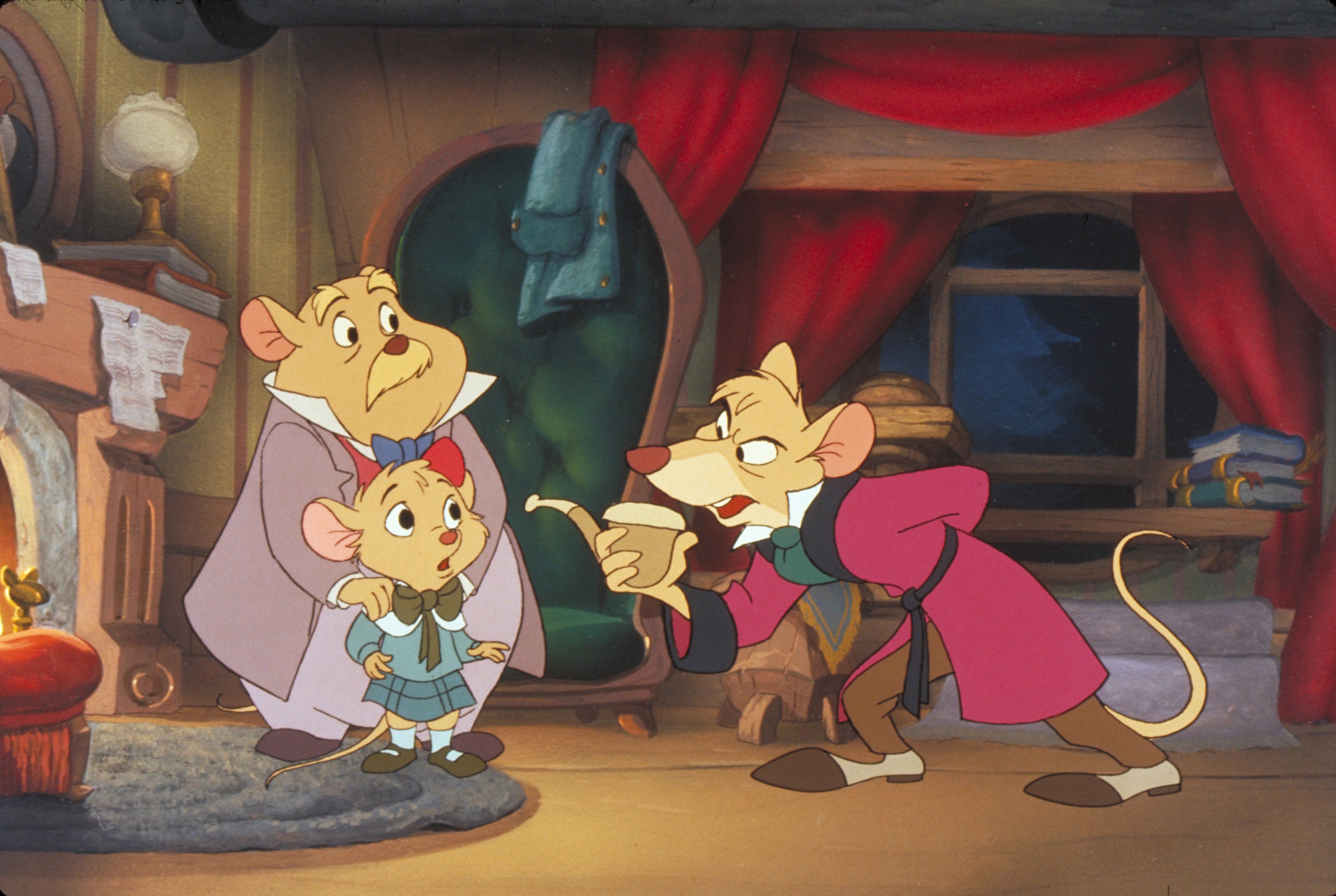 Digitized opening to Basil The Great Mouse Detective (UK VHS ...