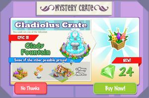 Gladiolus Crate